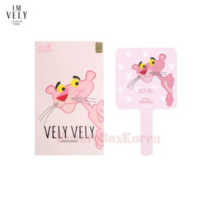 VELY VELY Hand Mirror 1ea [Pink Panther Edition]